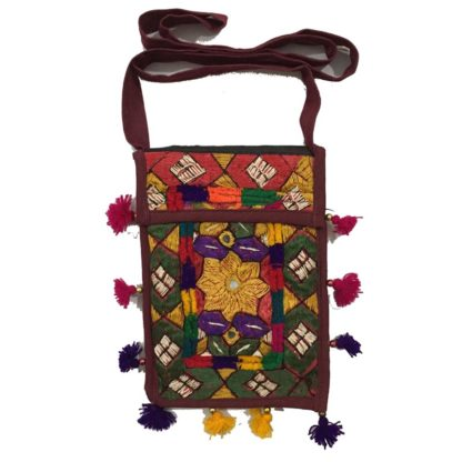 girls embroidered purse