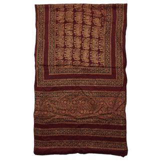 silk ajrak scarf