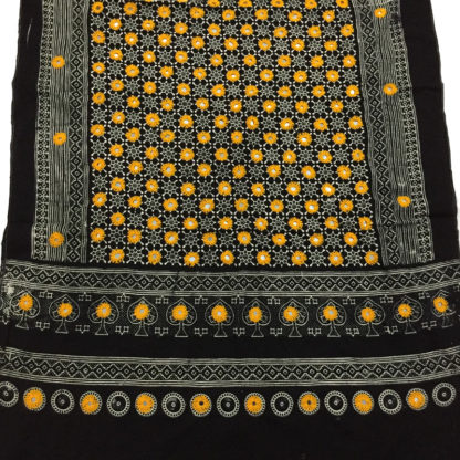 yellow mirror ajrak