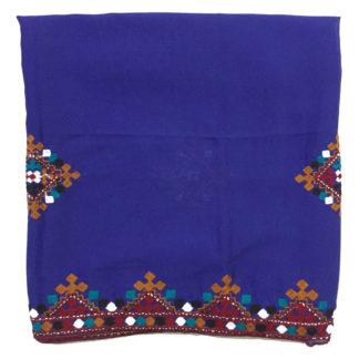 blue sindhi chadar