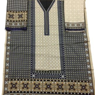 ajrak print dress