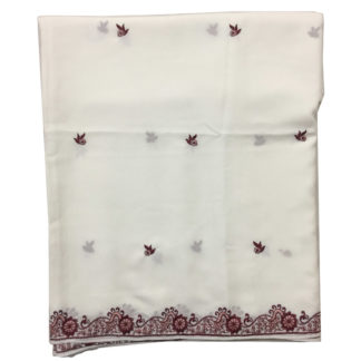 embroidered shawl