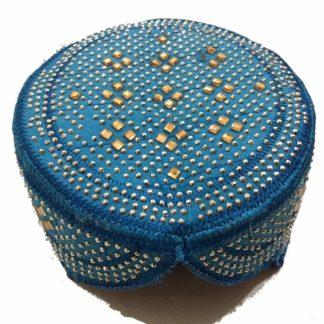 sindhi blue topi