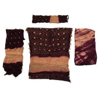 sindhi chiffon dress