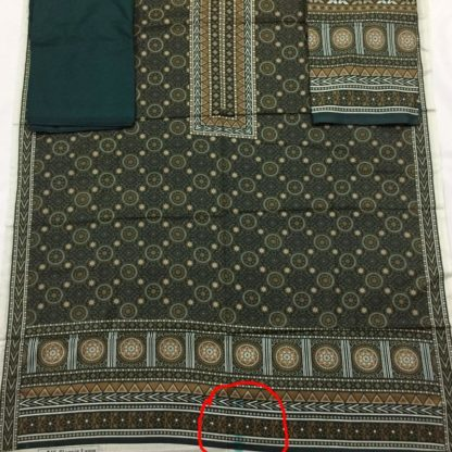 ajrak design dress
