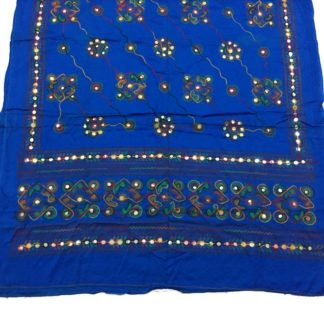blue fancy dupatta