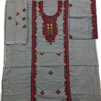 handicraft embroidered dress