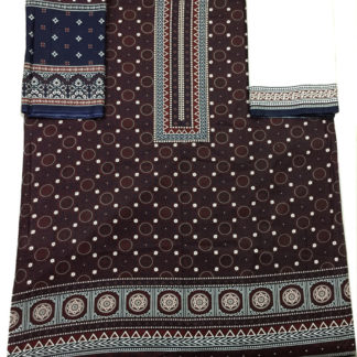 ladies ajrak dress