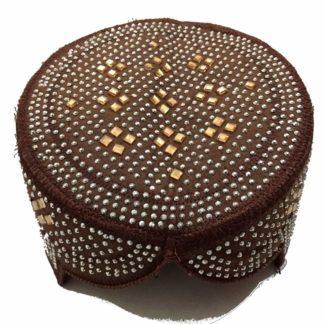 sindhi brown topi