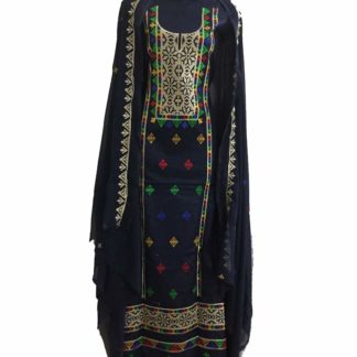 black balochi dress