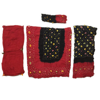 chunri linen dress