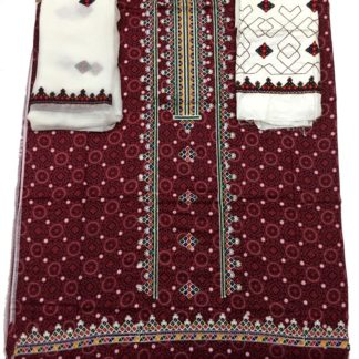 sindhi embroidery dress