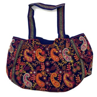 mirror work ladies bag