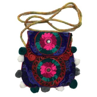 embroidery purse