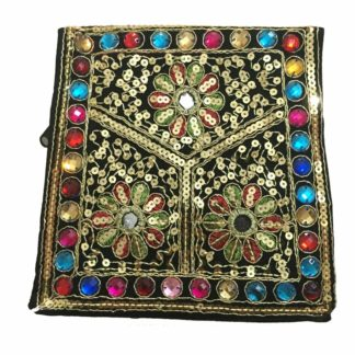 sindhi embroidered purse
