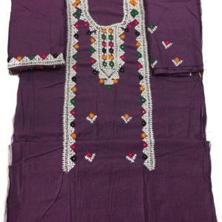 khaddi embroidered dress