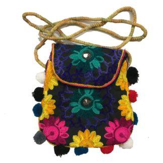 multicolor girls purse