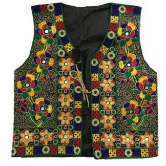colorful waistcoat