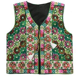 embroidered koti