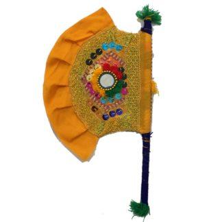 handcrafted fan