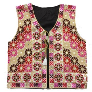 embroidered waistcoat
