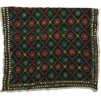 indian embroidered dupatta