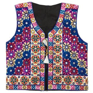 ladies embroidered waistcoat