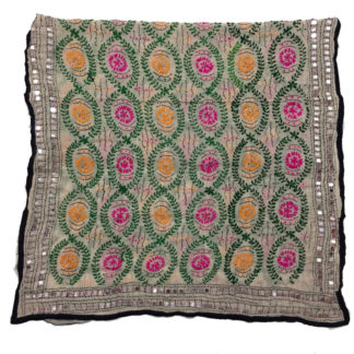colorful embroidered dupatta