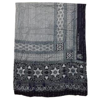 black linen shawl