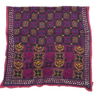 embroidered phulkari shawl