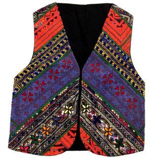sindhi mirror waistcoat