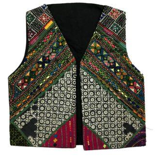 pakistani embroidered waistcoat