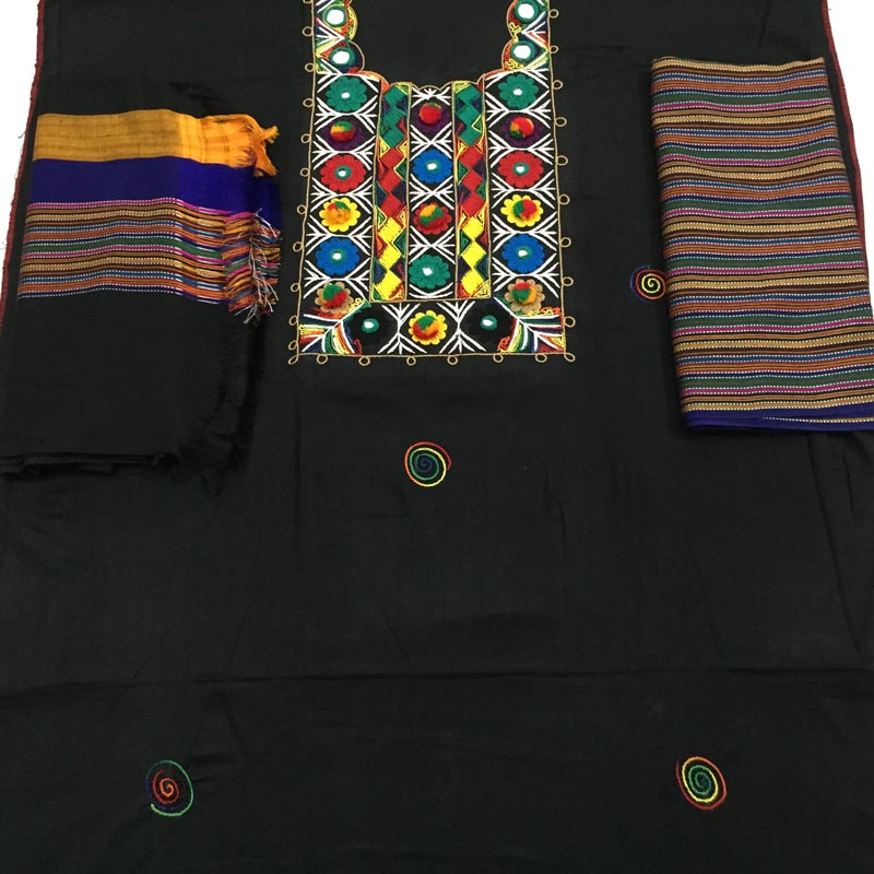 Hand Embroidery Mirror Work Designs With Embroidery Dresses