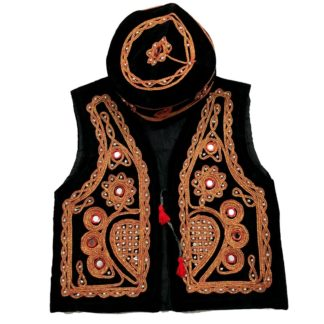 Sindhi Embroidery Koti Waistcoat Topi For Kids Buy Online
