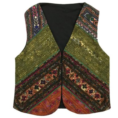 buy mirror work waistcoat