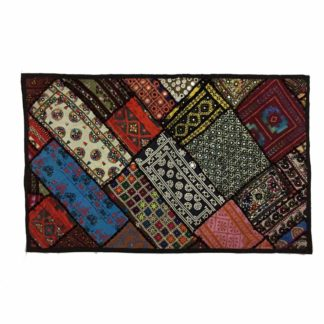 Hand Embroidered Colorful Wall Art- Pakistan