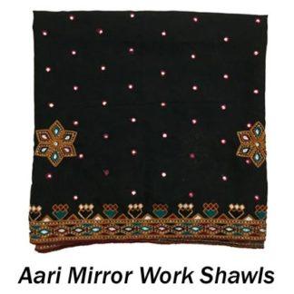 Aari Mirror Shawls
