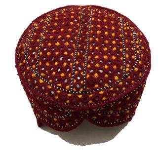 sindhi design cap