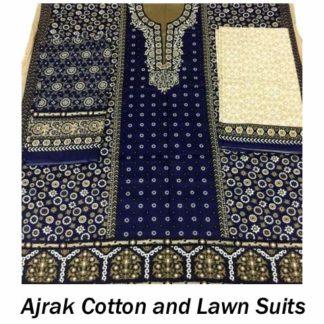 Ajrak Cotton and Lawn Suits