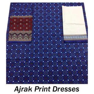 Ajrak Print Dresses
