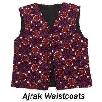 Ajrak Waistcoats