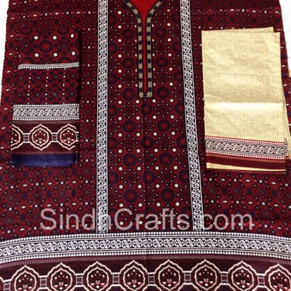 ajrak cotton dress