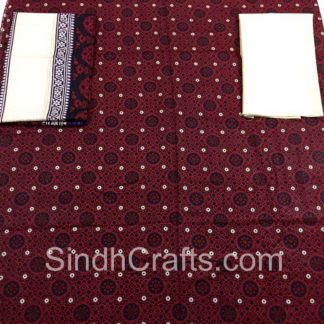ajrak cotton suit