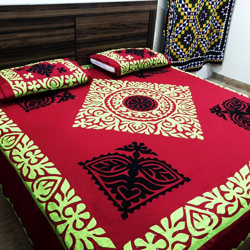 Applique Designs For Bed Sheets