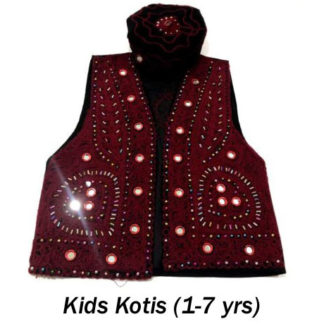 Kids Kotis/WaistCoats (Ages 1 to 7yrs)