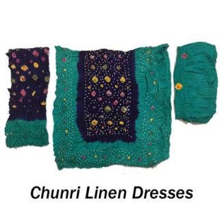 Chunri Linen dresses