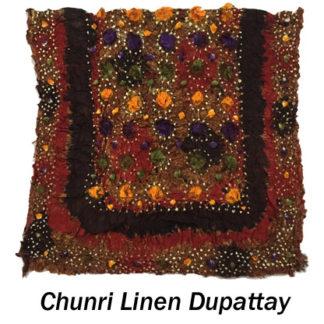 Chunri Linen Dupattay