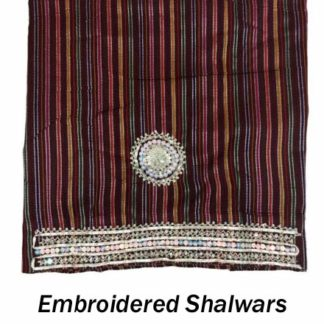 Embroidered Shalwars