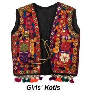Girls' Kotis (1 to 8yrs)