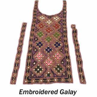 Embroidered Galay